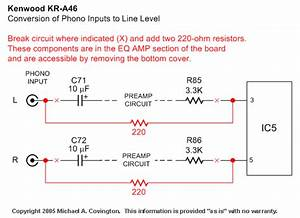 Converting Phono Inputs To Line