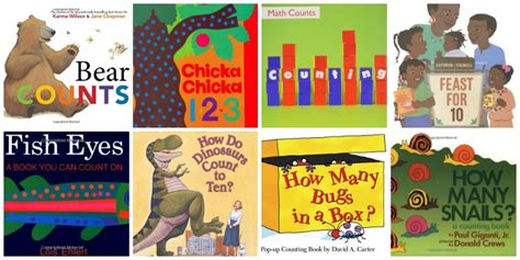 math picture books for preschool 508 | counting Preschool Math Books 1