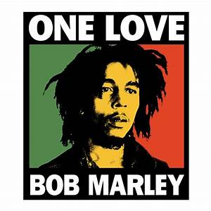Bob Marley One Love Box Sticker