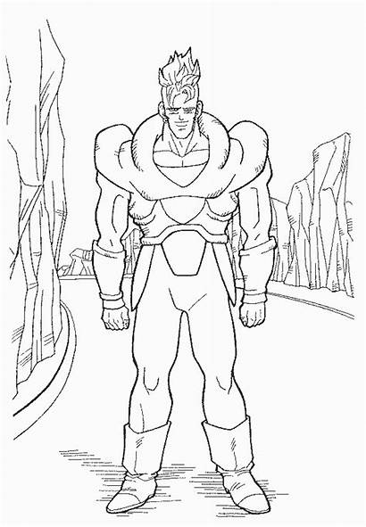 Coloring Pages Dragon Ball Db