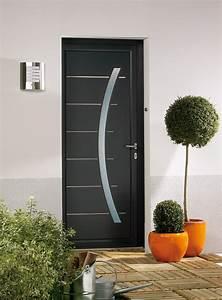 porte d 39entree anl pvc With porte d entrée grise