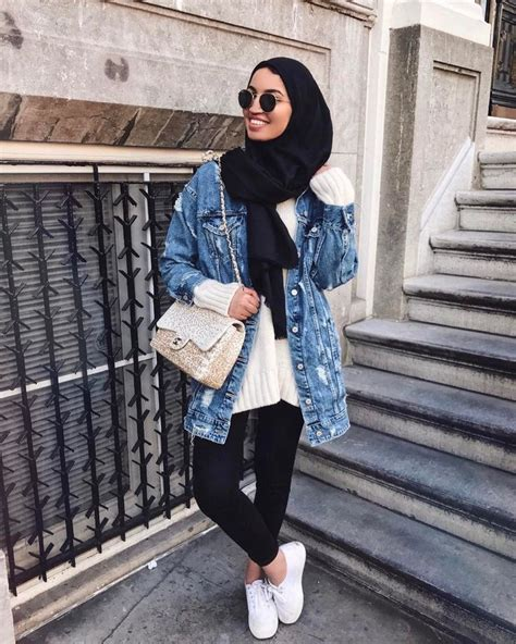 429 best casual hijab with denim images on Pinterest | Aaliyah Fashion outfits and Fashion sets