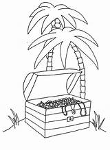 Island Coloring Pages Tropical Printable Getcolorings Getdrawings sketch template