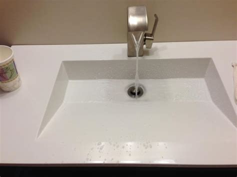 faucet slanted sink doityourselfcom