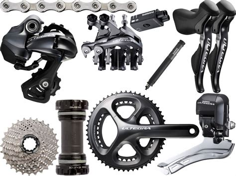 shimano di2 ultegra 6870 fit 11 speed groupset road groupsets ribble cycles