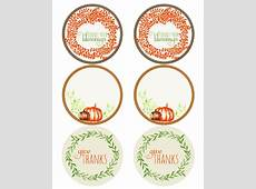 Thanksgiving Holiday Label Printables Worldlabel Blog