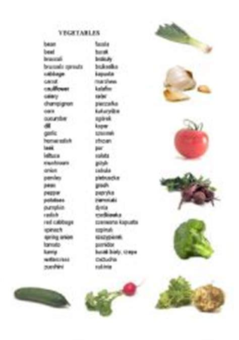 vegetables esl worksheet  annachwo