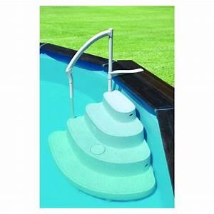 Escalier Pour Piscine Hors Sol : escalier vague pour piscine hors sol ~ Dailycaller-alerts.com Idées de Décoration
