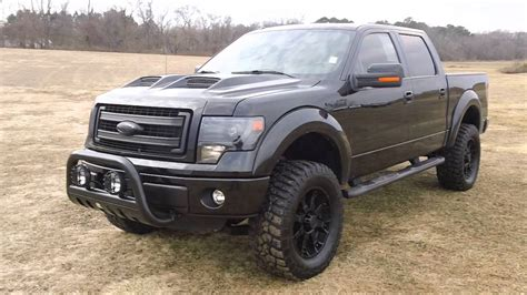 Black Ford F150 by 2013 Ford F150 Fx4 Black Ops Edition Truck Used