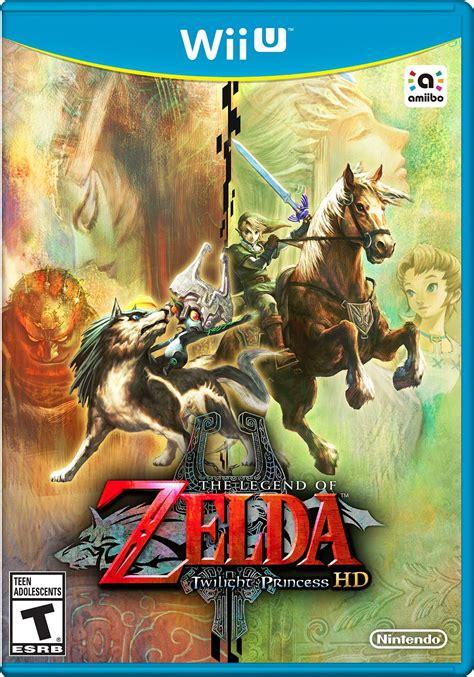 The Legend Of Zelda Twilight Princess Hd Box Art And