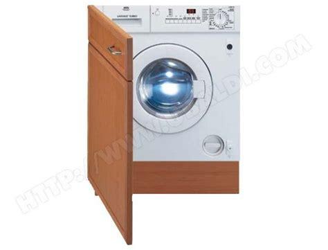 machine a laver cuisine aeg l14800vit pas cher lave linge sechant encastrable