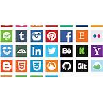 Social Icon Pack Icons Square Scaretissue Vectorified