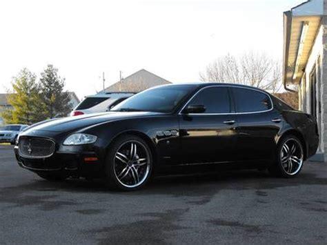 2007 Maserati For Sale by 2007 Maserati Quattroporte For Sale Carsforsale