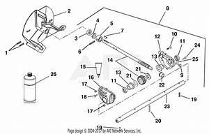 Ariens 924116  000101 -   St1028 10hp Tec   28 U0026quot  Blower Parts Diagram For Gear Case