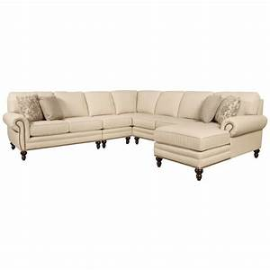 england amix seven seat sectional sofa with right side With sectional sofa with right side chaise