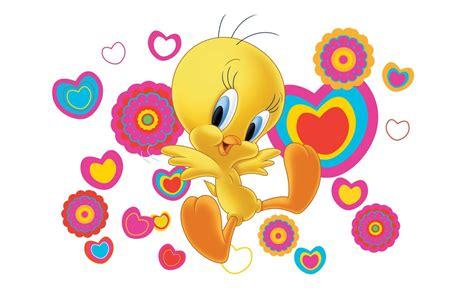 tweety bird cartoon graphics pics desktop wallpaper
