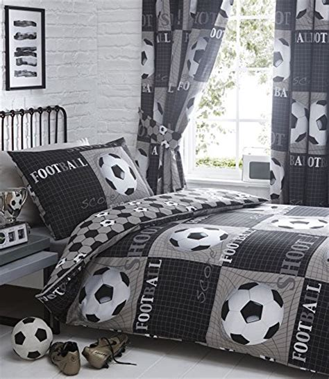 King Size Duvet Cover Set Football Themed King Size