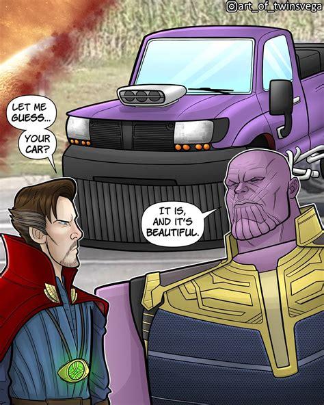 Thanos Car Credit@artoftwinsvega Marvelstudios