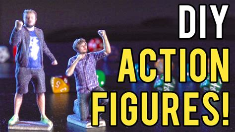 Diy Action Figures With 3d Printing! Youtube