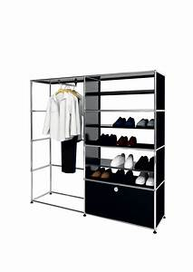 usm modular furniture wardrobe black meuble usm haller With meuble usm haller