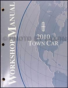 2010 Lincoln Town Car Wiring Diagram Manual Original