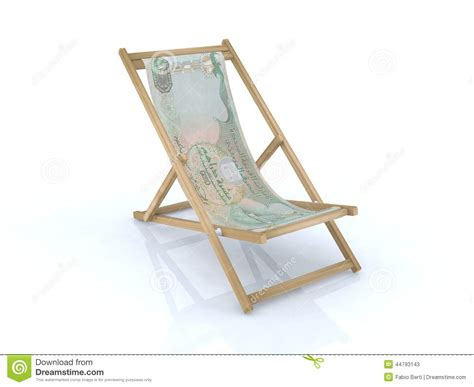 banque de bureau chaise de bureau en bois avec le billet de banque des