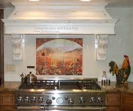 kitchen backsplash tile murals sunflower kitchen decor tile murals western backsplash
