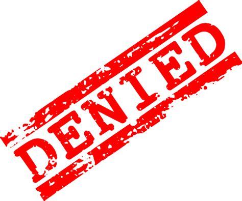 red denied stamp png transparent onlygfxcom