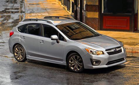 2012 Subaru Imprezza Hatchback Review