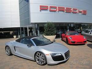 Sell Used 2012 Audi R8 5 2 Quattro Spyder Silver Black V10