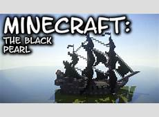 Minecraft Pirate Ship Tutorial The Black Pearl YouTube