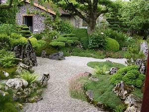 Idée Jardin Zen : jardin zen jardinier laurent entreprise de jardin ~ Dallasstarsshop.com Idées de Décoration