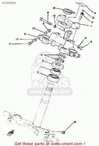 Yamaha Xs1100 1981  B  Usa Steering