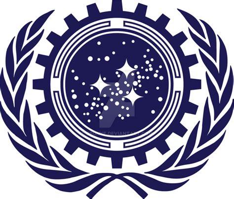 Star Trek The Next Generation Wallpaper Star Trek Into Darkness Ufp Logo Redesign 2 0 By Cbunye On Deviantart