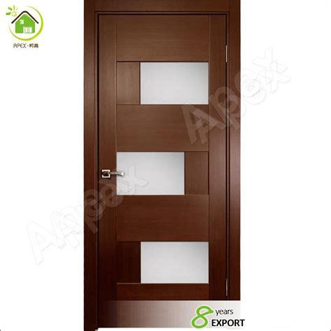 flush interior wood doors style black ash wood interior doors glass door design flush door