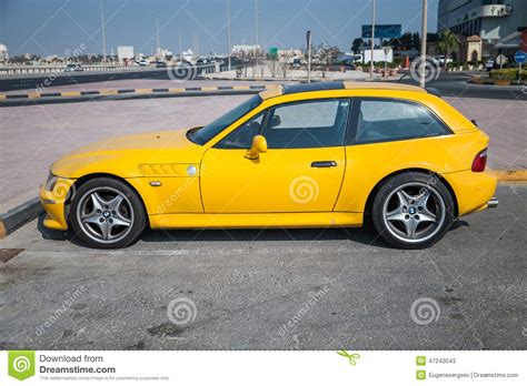 Yellow Bmw Z3 M Coupe Car Editorial Stock Photo. Image Of