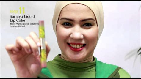 simple make up dan tutorial oleh sariayu martha