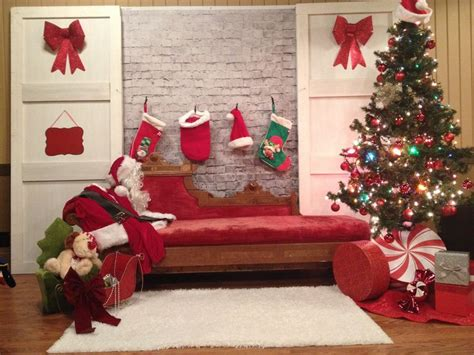 Backdrop Santa by 17 Best Ideas About Pictures With Santa On