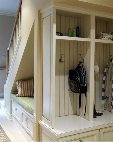 Under Stairs Bench For The Home Pinterest