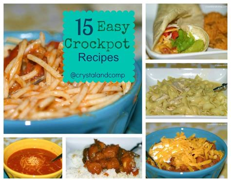 crockpot recipes easy easy crockpot recipes for dinner food easy recipes