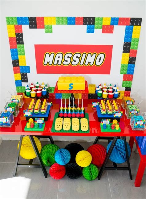 Amazing Lego Birthday Party  Little Wish Parties
