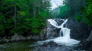 1280x720, Waterfall, Rocks, River, 720p, Wallpaper, Hd, Nature