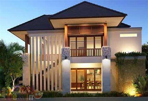 model gambar rumah  lantai minimalis modern terbaru