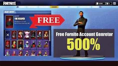 fortnite account generator  working