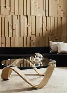 Panneau Bois Decoratif Interieur : le panneau mural 3d un luxe facile avoir ~ Melissatoandfro.com Idées de Décoration
