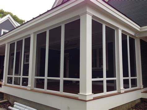 Porch Enclosures by Custom Porch Enclosures And Screen Rooms Porch Glass