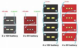 U30c8 U30c3 U30d7 100 2 12 Volt Batteries In Series
