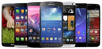 Android Phone Phones Play Radio Through Playing