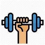 Icon Dumbbell Healthy Gym Exercise Vectorified Noida