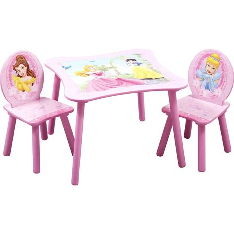 toddler table and chair set toys r us delta children princess toddler play study 3pc pink